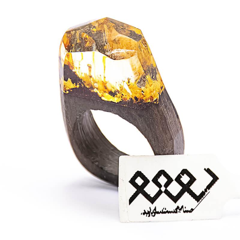 انگشتر چوبی 21