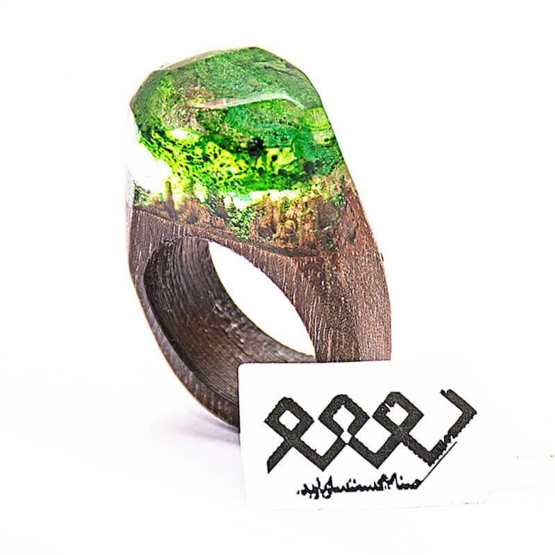 انگشتر چوبی 29