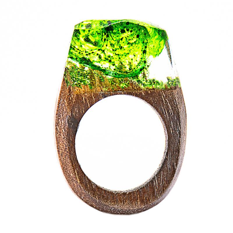 انگشتر چوبی 30