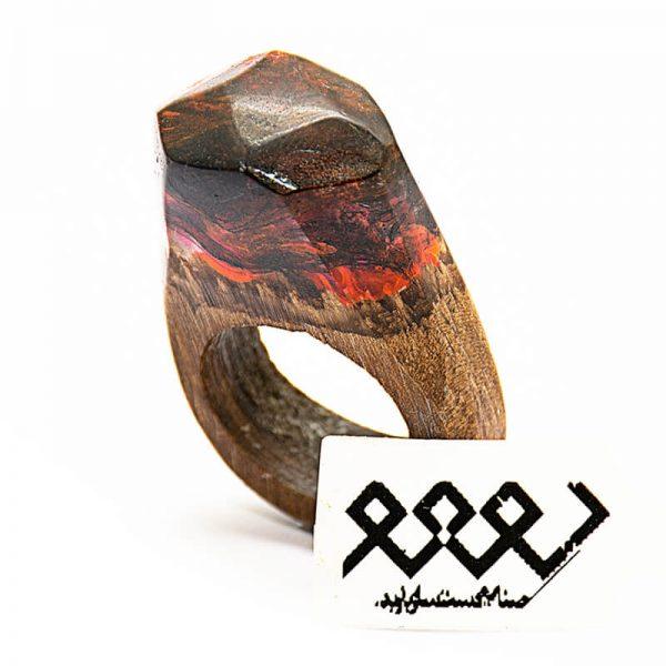 انگشتر چوبی 35