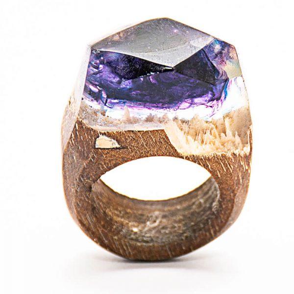 انگشتر چوبی 39