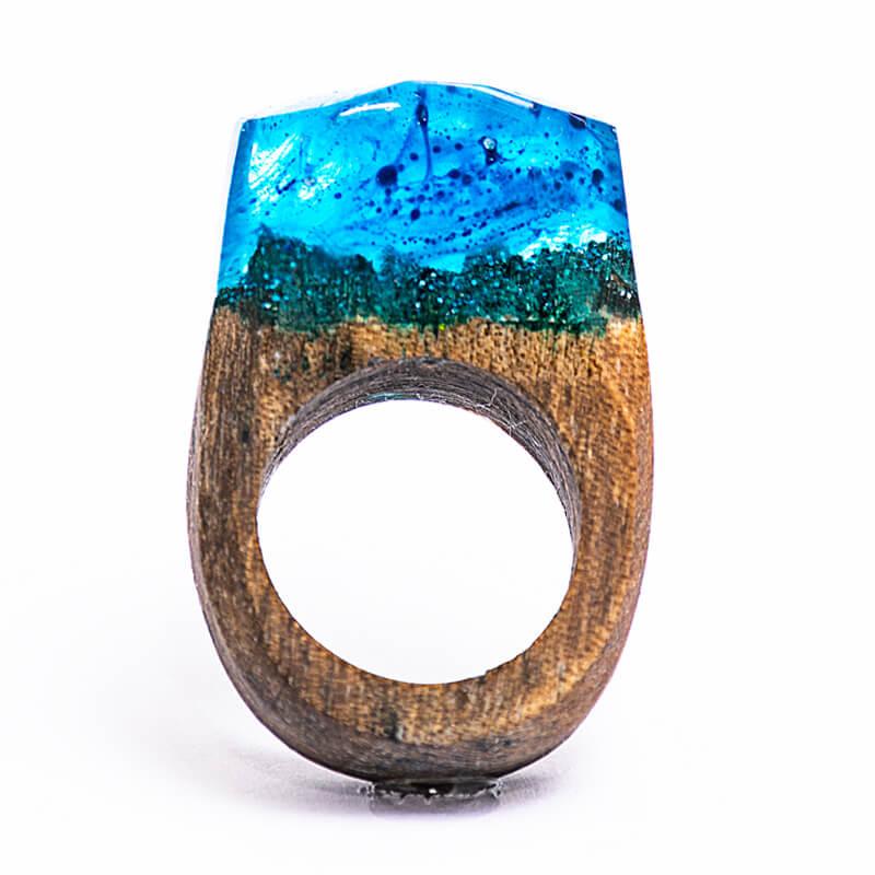 انگشتر چوبی 59