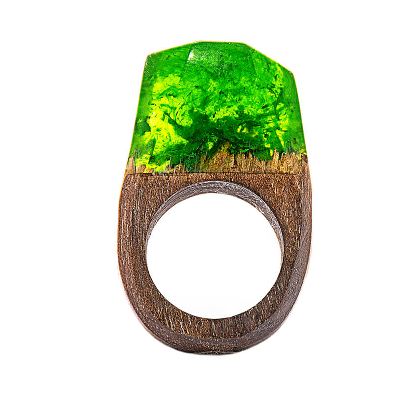 انگشتر چوبی 7