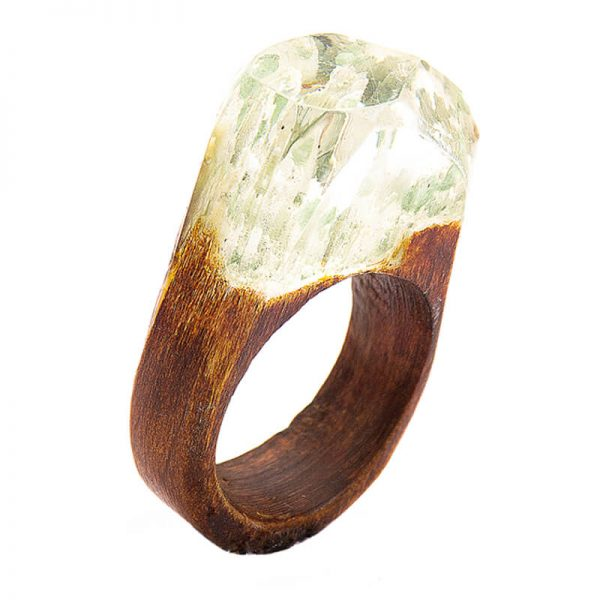 انگشتر چوبی 74