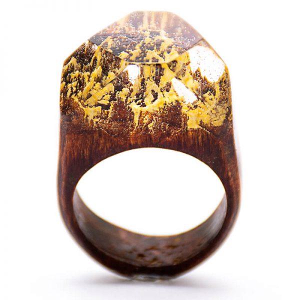 انگشتر چوبی 80